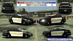 grand junction police department 2016 ford taurus vehicle textures lcpdfr