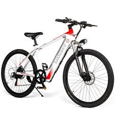 Best <b>Samebike SH26</b> 26 Inch Power Assist Electric white Sale ...