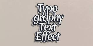 typography text effect psd