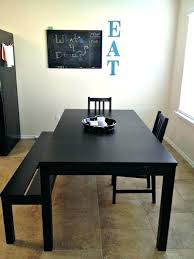 dining tables ikea round dining table and chairs with bench furniture modern black for the