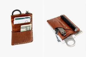 keeping your everyday carry as streamlined and minimal as possible is a solid approach so a mini organizer that combines your wallet with your favorite edc