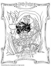 Coloring Pages Harry Potter Coloring Book Adult Pdfharry