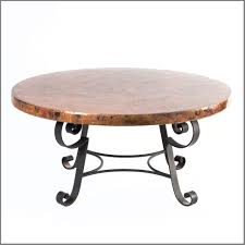 great hammered copper top coffee table copper glass top coffee table