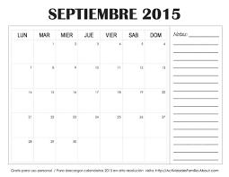 Calendarios Discretos Del Mes De Septiembre De 2015 Banco De