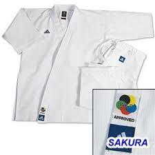 Uniforms Item Uni 4022 A1 Karate Uniform Adidas Karate Champion Kata Gi Heavy Weight White Only Class Sak 01