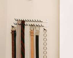 wall mounted tie rack cosmecol
