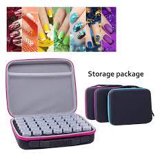 <b>42 Grid</b> Essential Oil Case Nail Polish <b>Storage Bag</b> Diamond ...