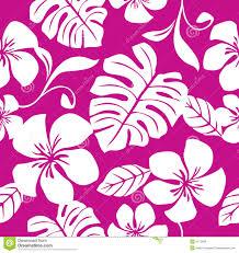 Hawaiian Pattern Beauteous Seamless Tropical Pink Bikini Pattern Stock Vector Illustration Of