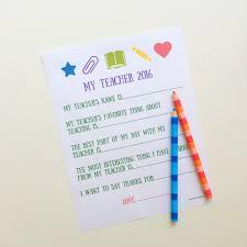 Teacher Thank You Letter Work Kids Wine