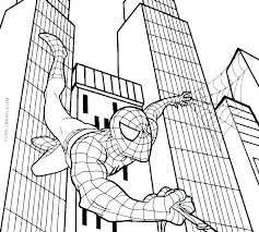 Coloring Pages Printable Coloring Pages Printable Spider Man