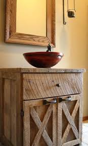 reclaimed barn wood bathroom vanity cabinets rustic wall cabinet full size  of doors large bathr