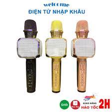 Micro không dây karaoke bluetooth JVJ SD-10, mic kèm loa mini không dây,  bắt giong tốt nhỏ gọn chính hãng 239,000đ