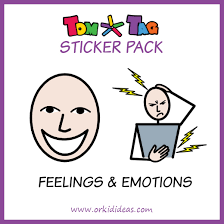 Sticker Pack Feelings Emotions Orkid Ideas Classy Upset Feelings Stickers