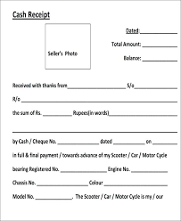 Paid Receipt Template Word Car Receipt Template Car Payment Receipts 9 Examples In Word
