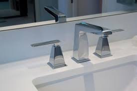modern bathroom sink faucet handle contemporary lavatory intended