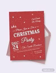 Free Christmas Invitation Template 29 Psd Christmas Invitation Card Designs Psd Word Ai