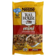 nestle toll house cookie dough bar chocolate chip mini 40 ct
