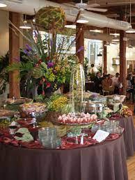 wedding food tables