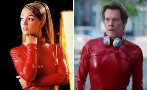 Watch Kevin Bacon squeeze into Britney Spears's 'Oops!' catsuit ...