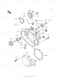 Kawasaki rcycle oem parts diagram engine cover partzilla service