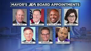 Mayor names 7 people he wants on JEA board