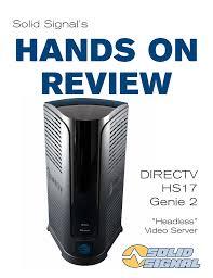 Directv Genie 2 Status Light Blue Directv Hs17 Genie 2 Manualzz Com