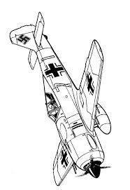 Kleurplaten En Zo Kleurplaten Van Vliegtuigen Tweede Wereldoorlog