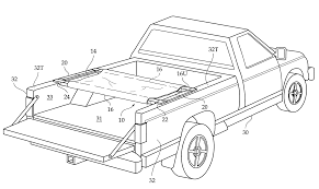 Patent US Truck bed cot system Google Patents