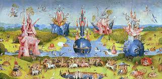 garden of earthly delights poster. Hieronymus Bosch Garden Of Earthly Delights Poster L