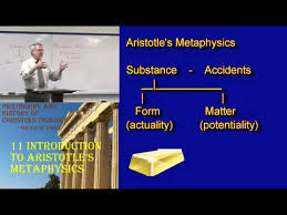 Form And Matter Of Sacraments Chart Aristotles Matter And Form Simply Philosophy