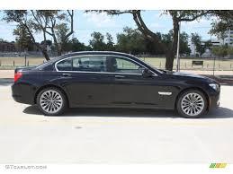Black Sapphire Metallic 2012 BMW 7 Series 740Li Sedan Exterior ...