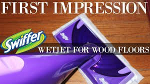 HOW TO CLEAN WOOD FLOORS | SWIFFER WETJET   YouTube