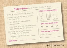 best 25 wedding mad libs ideas on pinterest bridal shower Wedding Invitation Bring A Guest three ways to get a quick response for wedding rsvps wedding invitation bring a guest