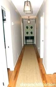 extra long hallway runners hall rug for hallways ft runner rugs neutral natural fiber hit bath