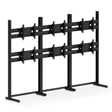 Flat Screen Display Stand Six Flat Screen Monitor Floor Stand afcindustries 82