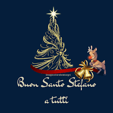 Auguri a tutti i Stefano e Stefania e Buon Santo Stefano di cuore a tutti.  | Cards, Playing cards, Christmas