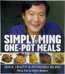 simply ming one pot meals quick healthy affordable recipes autographed