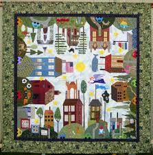 Come Quilt (Sue Garman): New Projects, Auctions, Old Quilts... and ... & And here are some block close-ups. First, notice the hilarious car up on  blocks out in the yard... along with the overalls, shorts, and bra hanging  on the ... Adamdwight.com