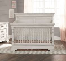 Rustic white furniture Nightstand Actual Bambi Baby Stella Baby And Child Kerrigan Collection Crib In Rustic White