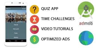 Online Quiz Templates Beauteous Quiz App Template For Android By Mardox CodeCanyon