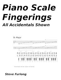 Printable Piano Finger Chart Piano Scale Finger Chart Pdf Www Bedowntowndaytona Com