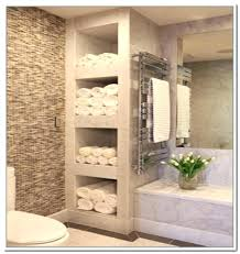 bathroom wall towel storage ideas best on shelving for towels home design modern