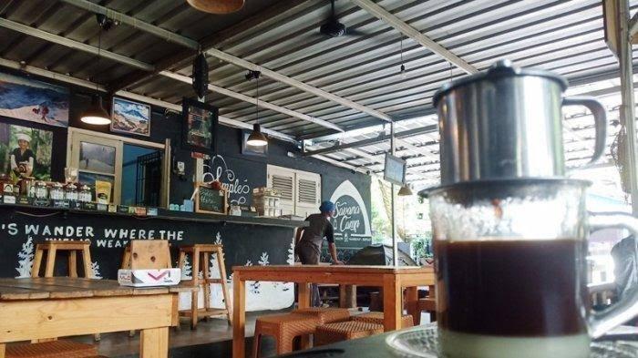 Ilustrasi warung kopi