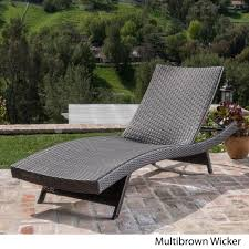 Toscana Outdoor Wicker Lounge by Christopher Knight Home - Free Shipping  Today - Overstock.com - 16081119