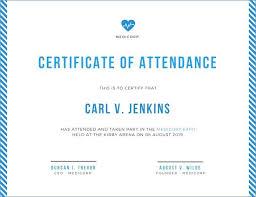 Attendance Maker Customize Attendance Certificate Templates Online Maker Making