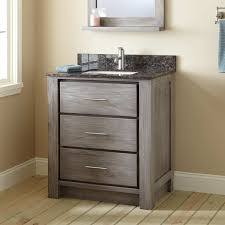 30 venica teak vanity for rectangular undermount sink gray wash