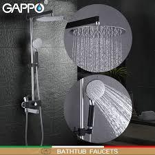 <b>GAPPO Bathtub faucets chrome</b> polished and black shower faucets ...