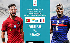 Prancis maju ke pertandingan ini setelah tidak terkalahkan dalam 9 pertandingan terakhir mereka di kejuaraan eropa termasuk babak kualifikasi, dan mereka akan melawan portugal yang telah mencetak setidaknya 2. Myu4owys6kfm0m