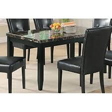 coaster home furnishings 102791 cal dining table black