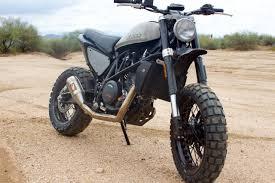 ktm 690 duke scramblers by droog moto concepts bikebound